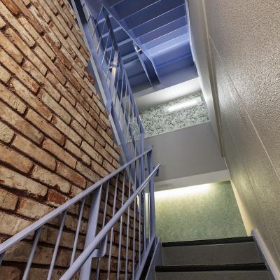 アンティークレンガを使った階段